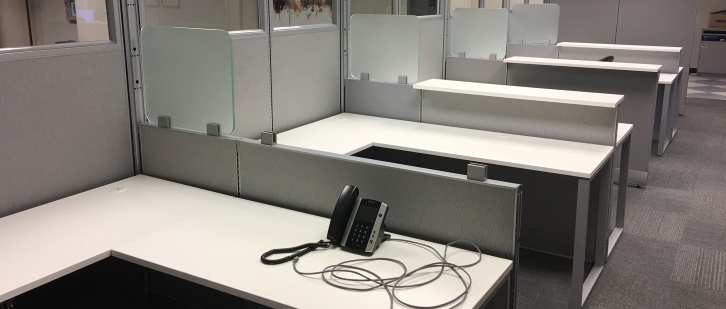 Office Partitions & Tables